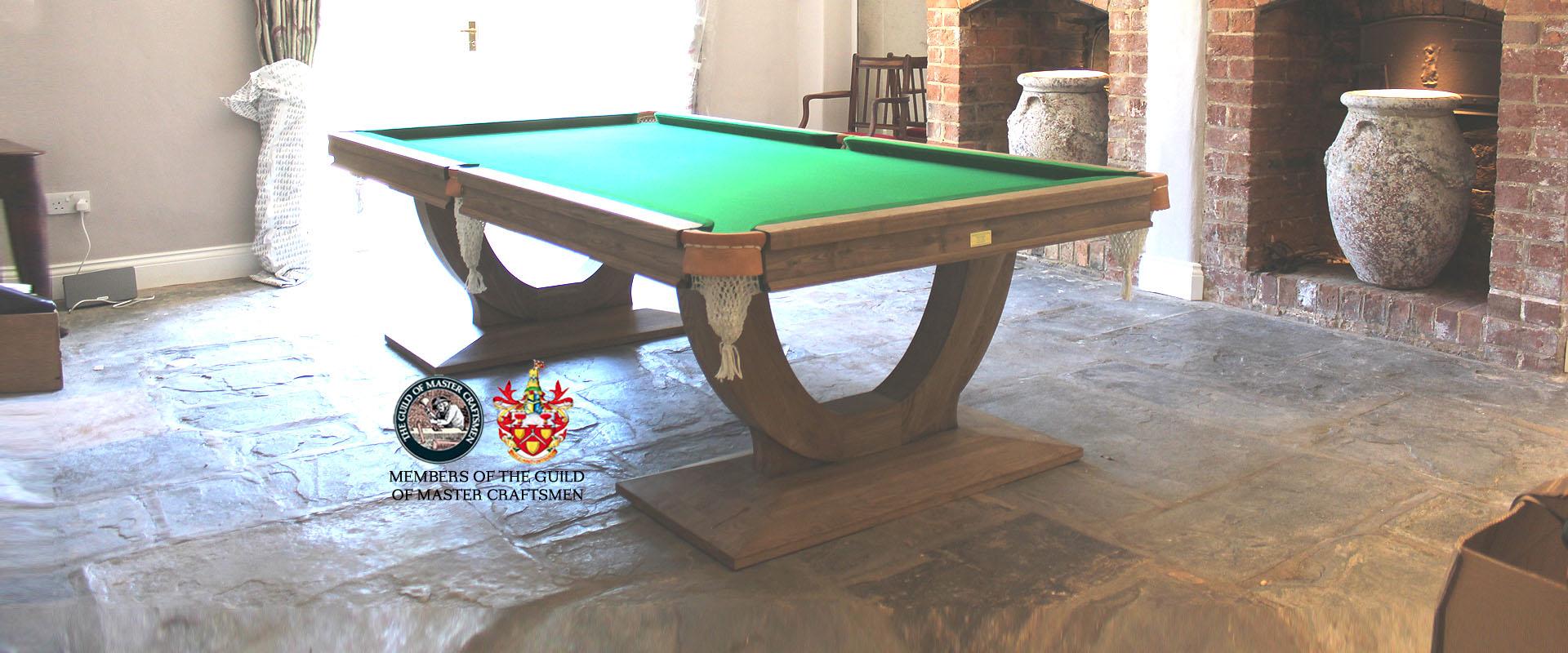 Market Leaders Of Bespoke Snooker Tables Pool Cues Dining