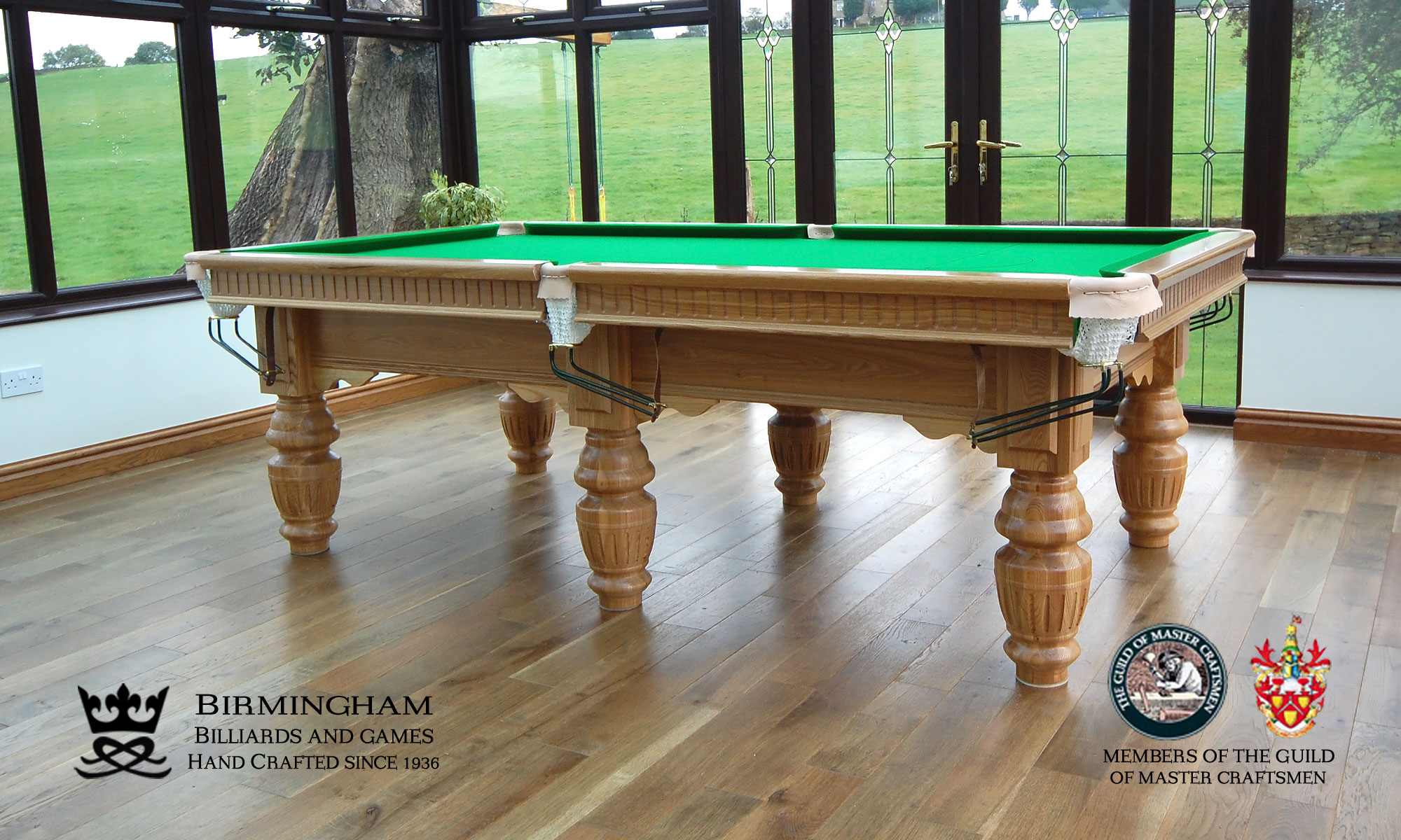 Classic Royal Hand Made Pool Tables