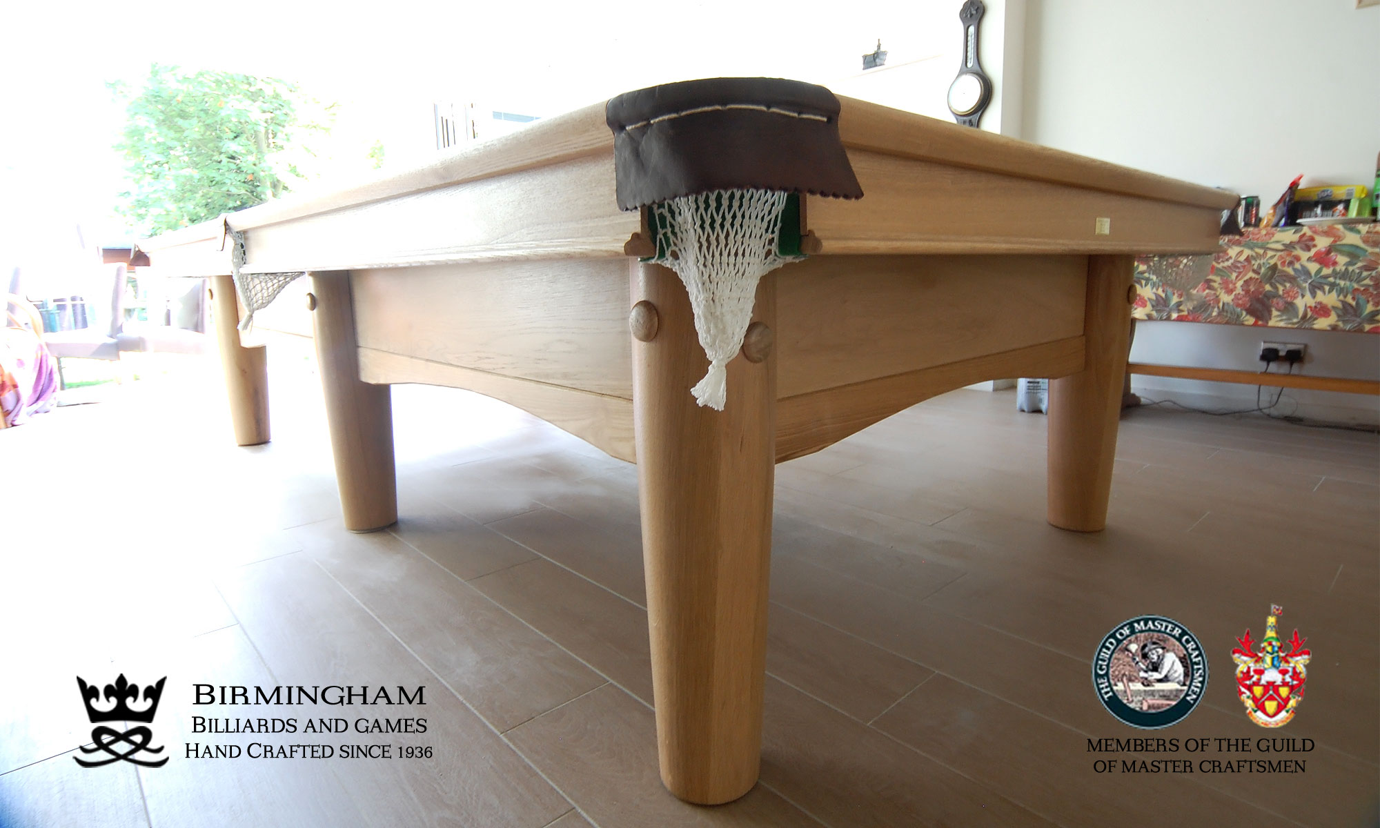 Hand made pool tables