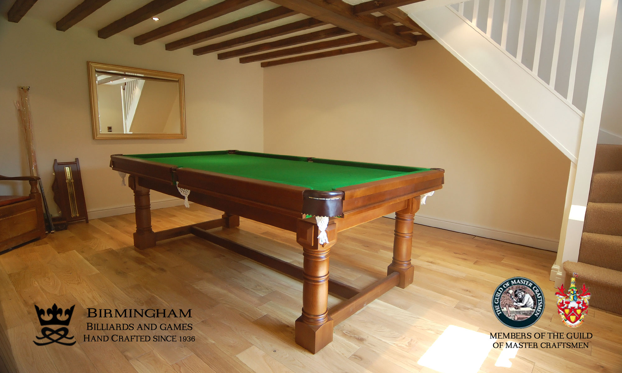 The Refectory snooker and pool table