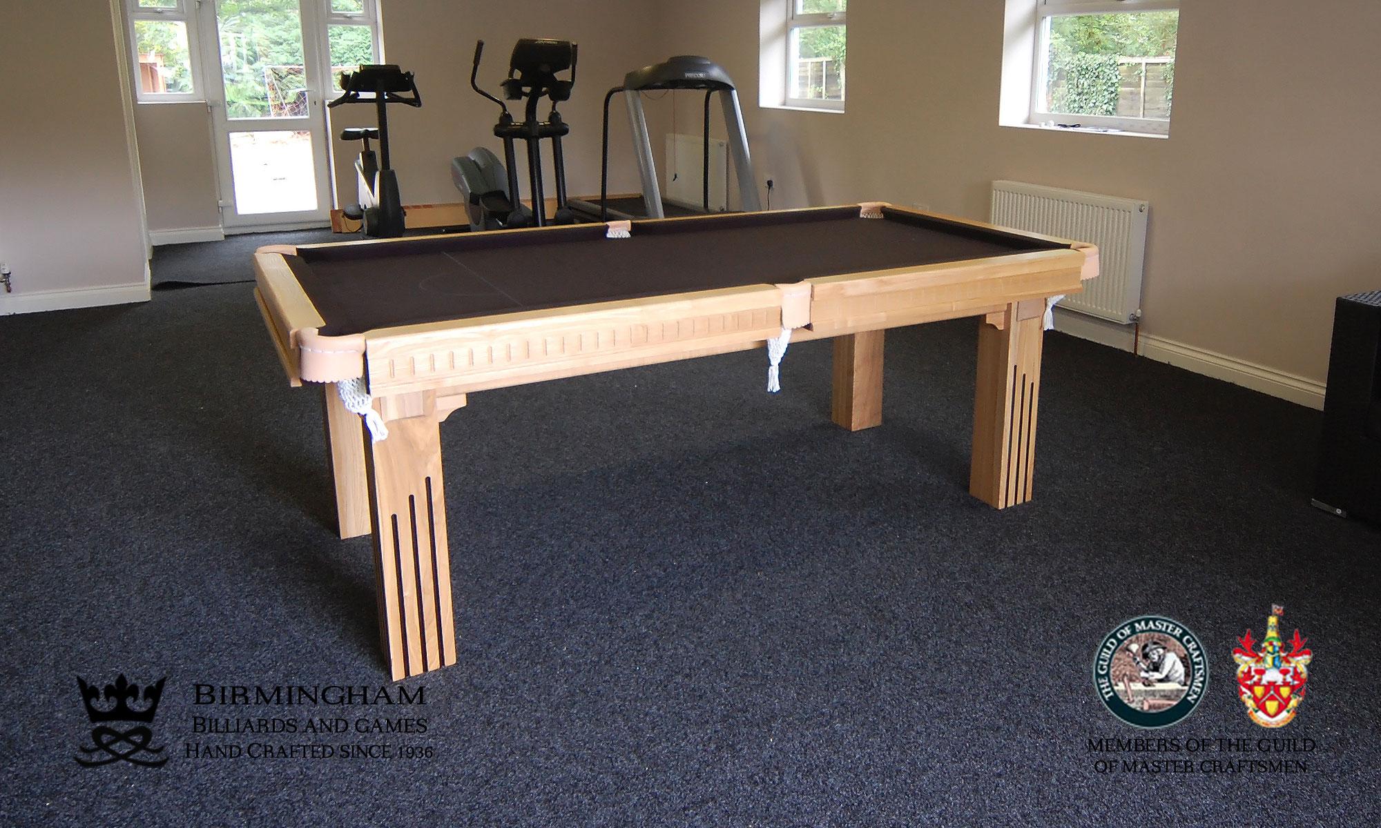 Art deco pool tables