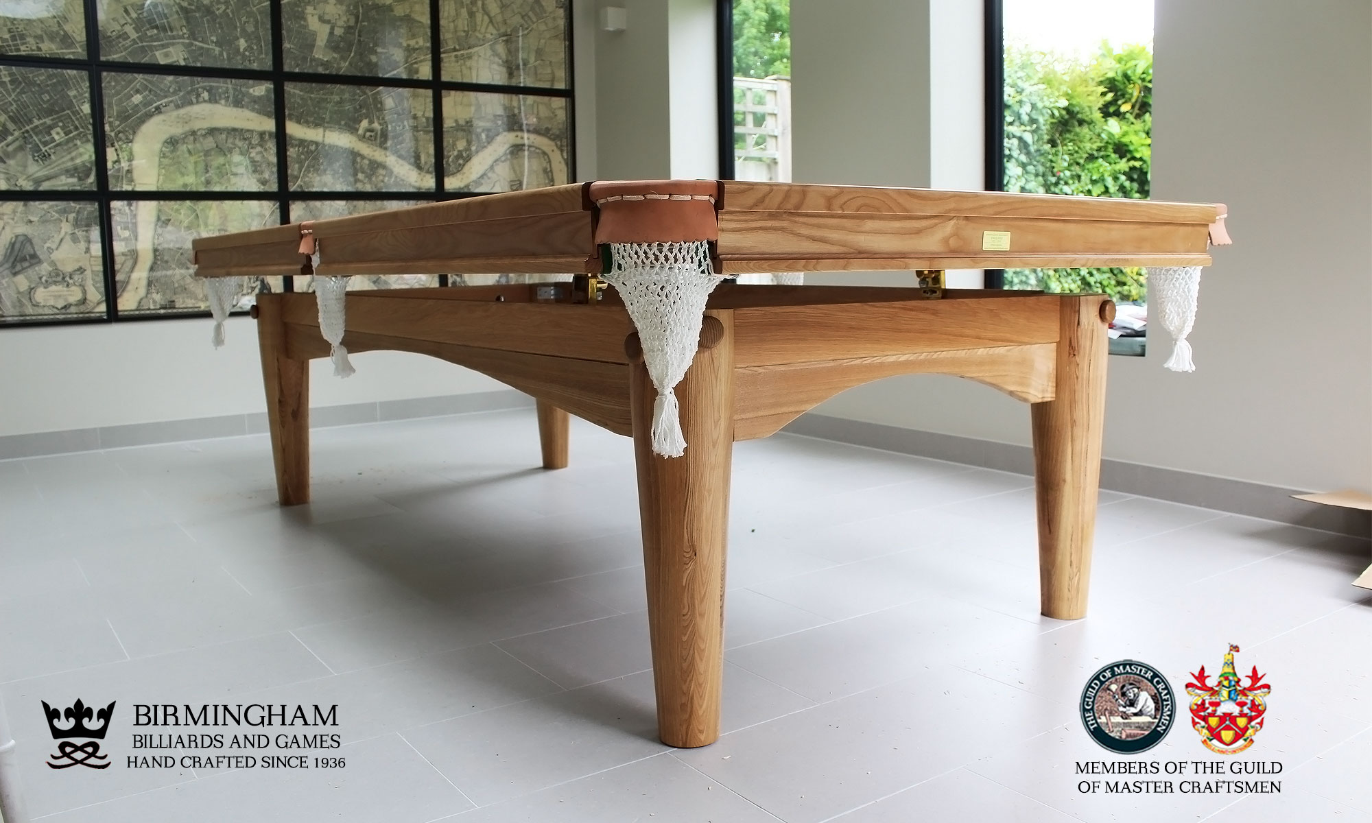oval snooker and pool dining table