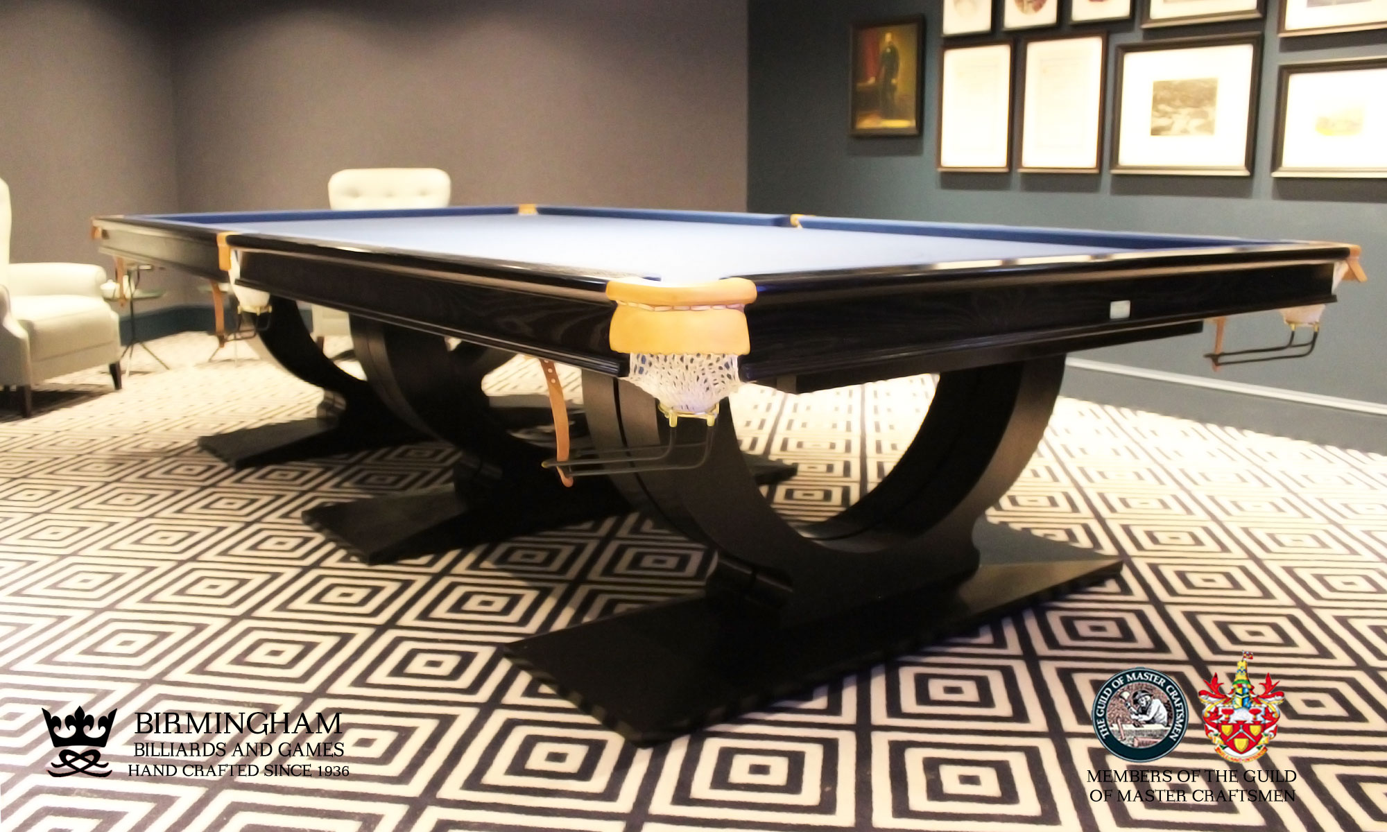 Roma snooker table