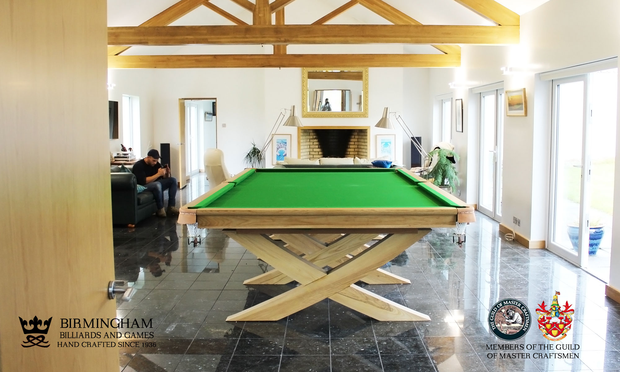 x style snooker table