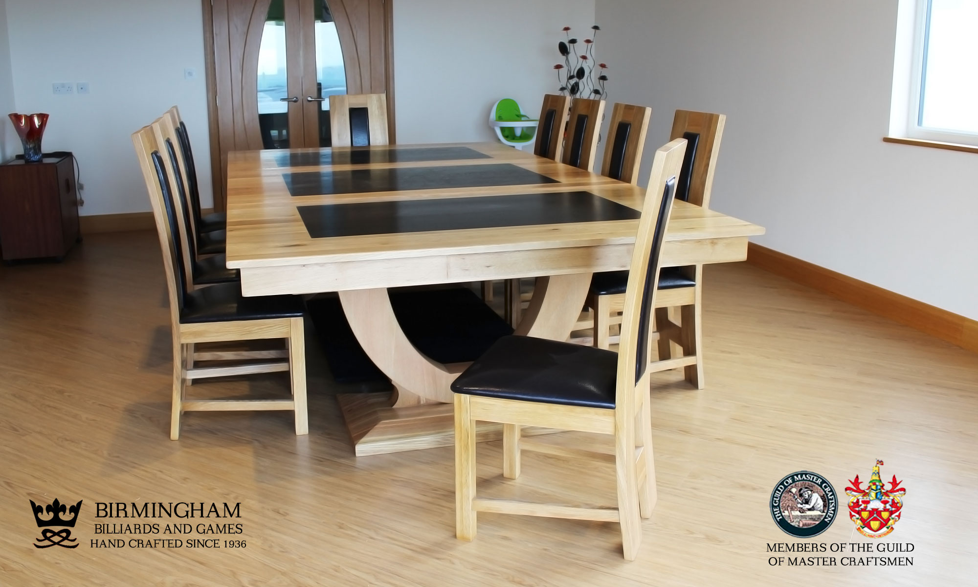 The Mayfair Dining Table  Birmingham Billiards