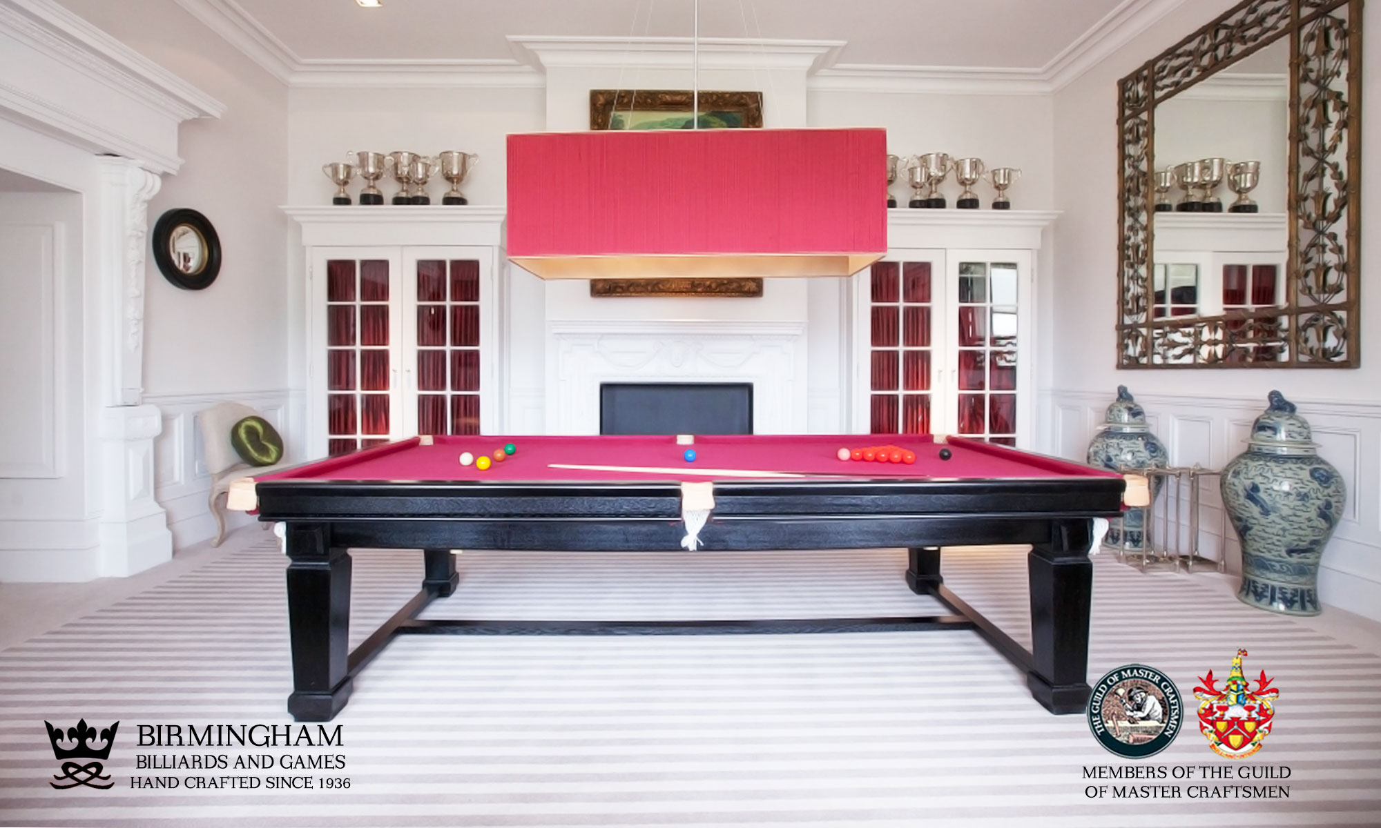 Liberty Pool and snooker dining table