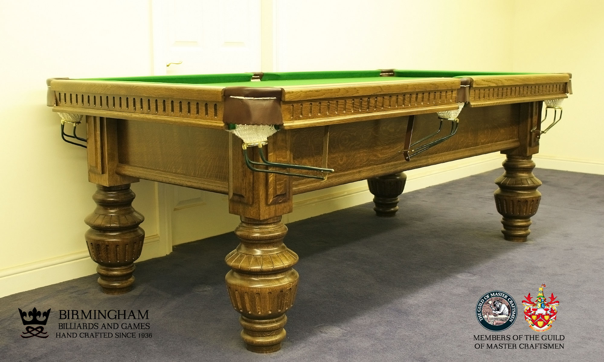 The Classic monarch handmade pool table