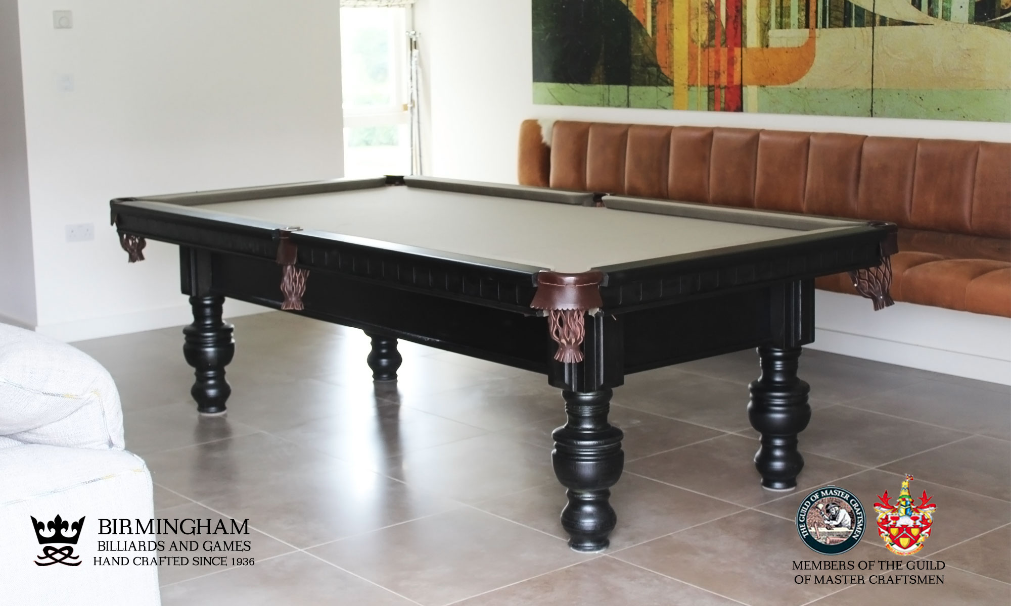 The Soho-Art Deco,bespoke pool table