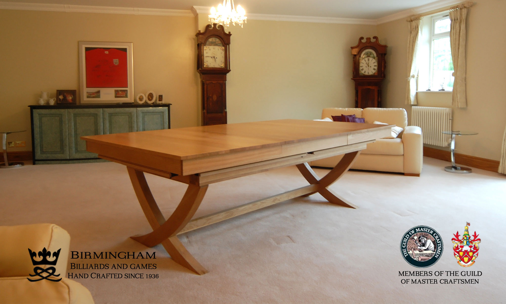 bespoke snooker and pool dining tables